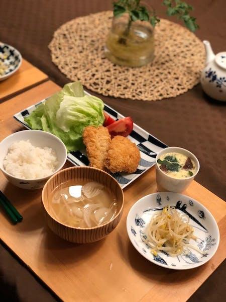 Japanes pork fries  - Tonkatsu teishoku