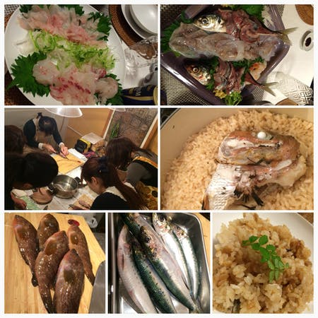 How to cook the whole fish by Japanese knives
