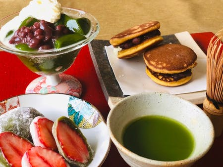 Mochi Making, Matcha Dessert and Tea Ceremony