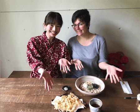 Handmade Udon Noodles