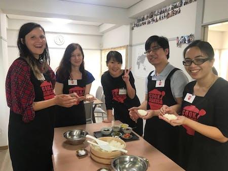 Make Riceball \'Onigiri\' With Local Mom