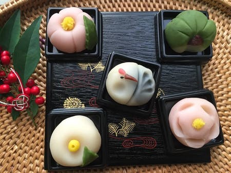 Japanese sweets Nerikiri and Tea ceremony experience