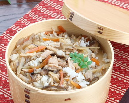 Japanese vegan food