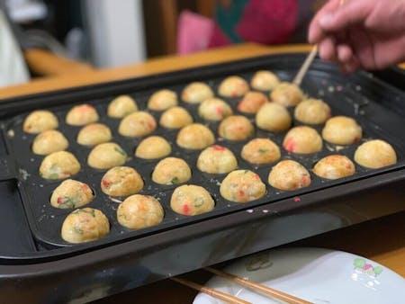 Takoyaki or Okonomiyaki Cooking Class