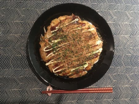Let\'s go to grocery store & make Okonomiyaki!