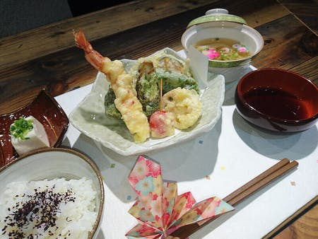 Enjoy TEMPURA cooking basic class