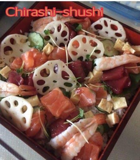 Let's make chirashi sushi