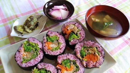 Shojinryori For vegans Norimaki