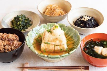 Japanese veg special GOZEN / Tempura or Agedashi
