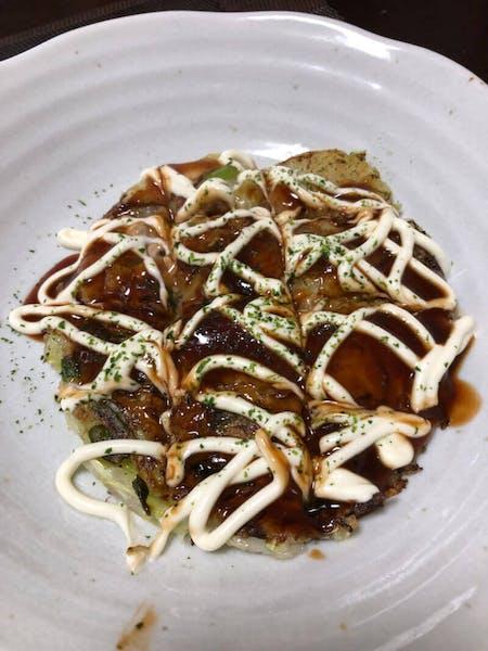 Vegan and Vegetarian Okonomiyaki Cooking