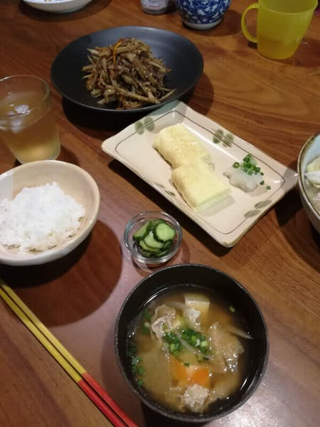 Japanese home style cooking