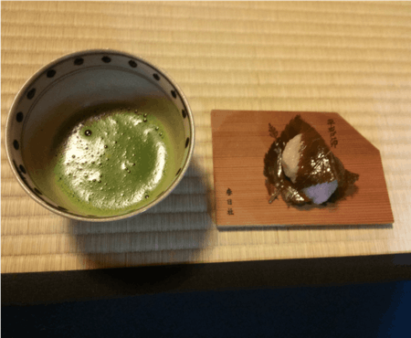 Japanese authentic home cooking and Tea ceremony