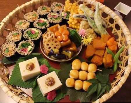 Organic Japanese Vegan(Shojin cuisine)