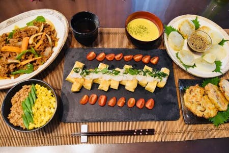 Full course Japanese Cuisine
