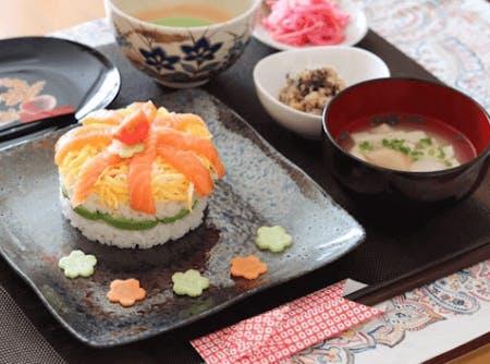 Homemade Pressed Sushi