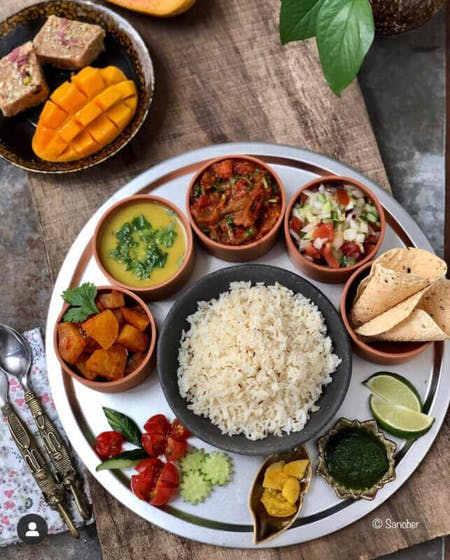 Learn to make a balanced Vegetarian Indian Meal