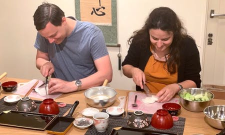 Local Asa Teishoku Japanese Breakfast Course in Kyoto