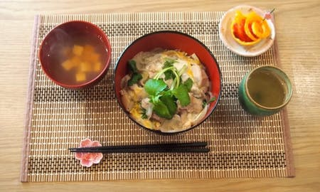 Rice bowl cooking and Nishiki market and local supermarket Tour