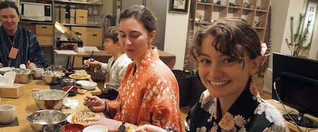 Okonomiyaki cooking for vegan&vegetarian