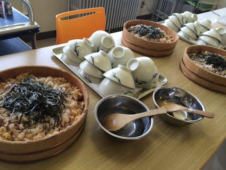 Nigiri Sushi,Tenpura,Misosoup,