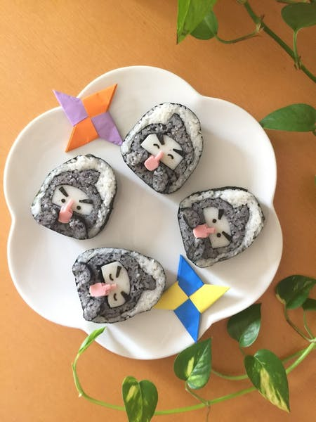 Japanese Pretty  Sushi cooking