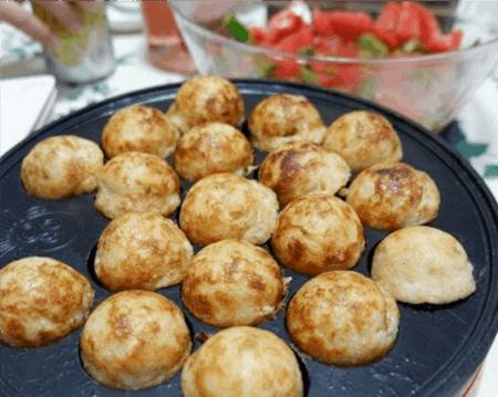 Takoyaki Cooking at home
