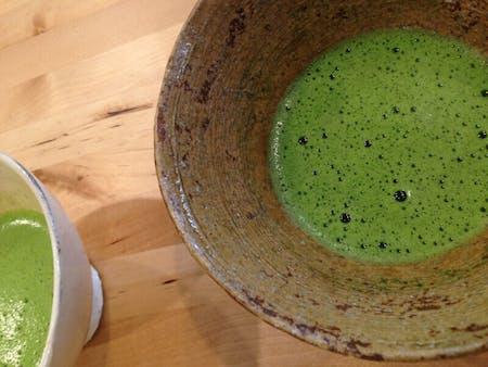 Tea ceremony and small Kaisei by tea master