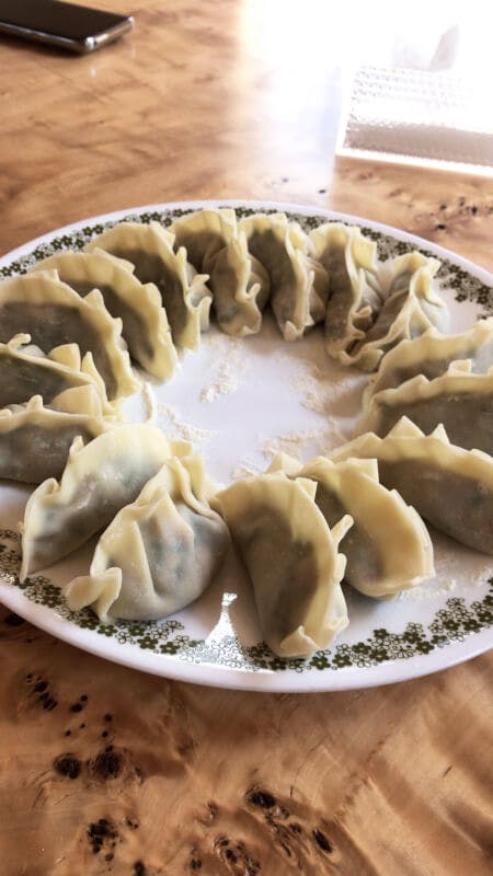 Gyoza(pan-fried dumpling)