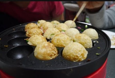 TAKOYAKI Brothers kitchen with Tea Ceremony Experience