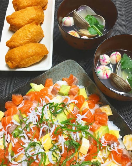 Japanese easy celebration menu