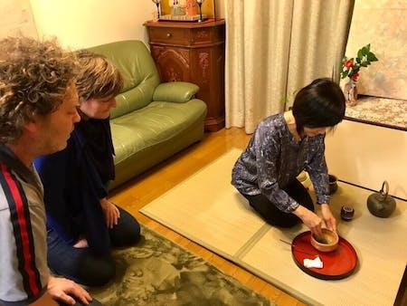 Tea Ceremony & Roll Sushi