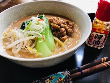 Kyoto style Tantanmen(Ramen noodles)\n