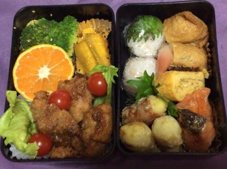Inari sush and rice ball