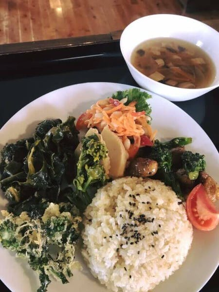 Authentic Japanese vegetarian and vegan cuisine