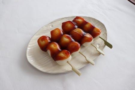 Japanese sweet (three kinds of Wagashi)