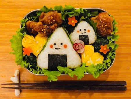 Japanese style Bento making experience