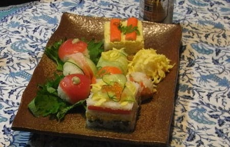 Home Sushi Class near Ginza/\r\n Cool and Hot for you!\r\n