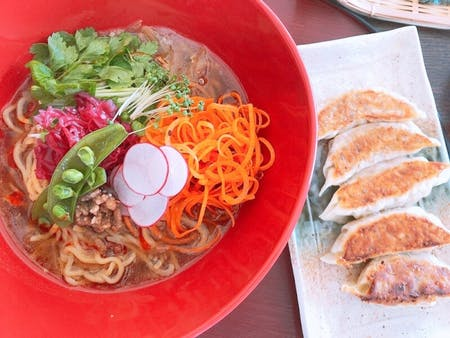 【Guilt Free/Vegan Ramen and Gyoza for Longevity】