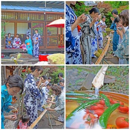 Nagashi Somen(Ramen,Soba,Udon) and Tempura