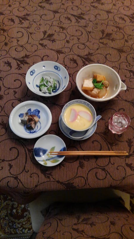 Everyone  loves fried chicken and chawanmushi in Kichijoji