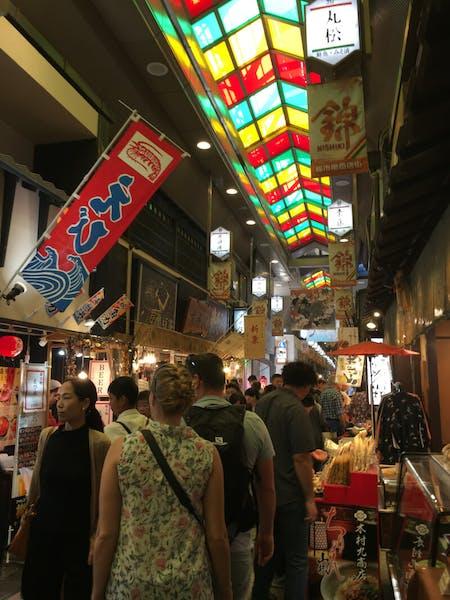 Kyoto Nishiki Market Tour & Japanese Umami Dishes in Kyoto