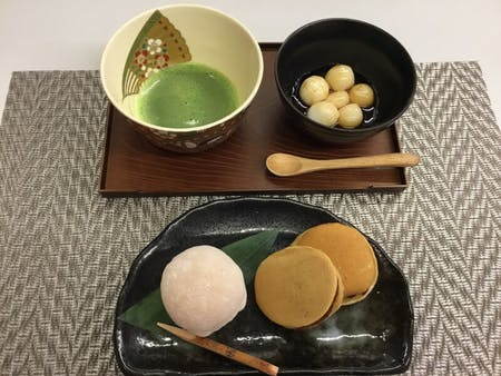 Traditional Japanese Sweets Making Experience (Minimum number participant:5)