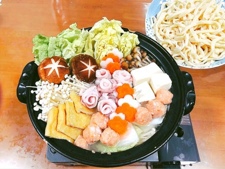 Let\'s make udon and chanko nabe, a traditional Japanese dish★