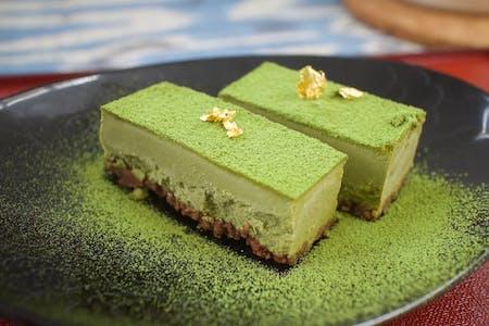 Matcha Raw cake