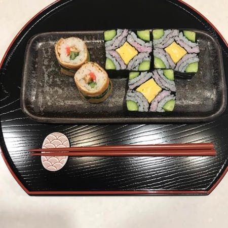Make with a Japanese mom [Beautiful decorative sushi]