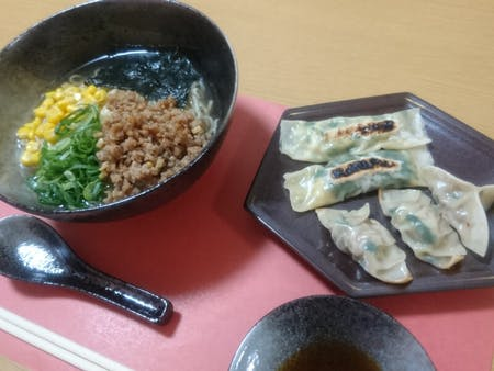 RAMEN and 2 types of GYOZA cooking!