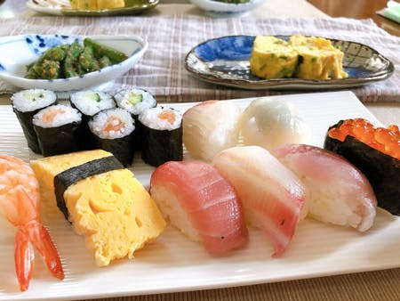 Sushi making course