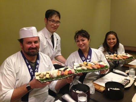 Tokyo Sushi Making Experience + Tsukiji Fish Market Tour