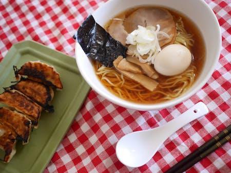 Gyoza Ramen Omiya cooking