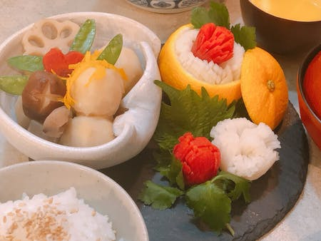 Let\'s cook and eat Japanese vegetable dishes! in Shibuya!
